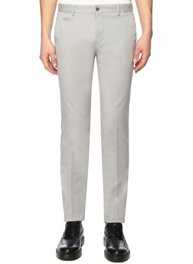 NetWork Erkek 1071932 Slim Fit Pantolon Gri